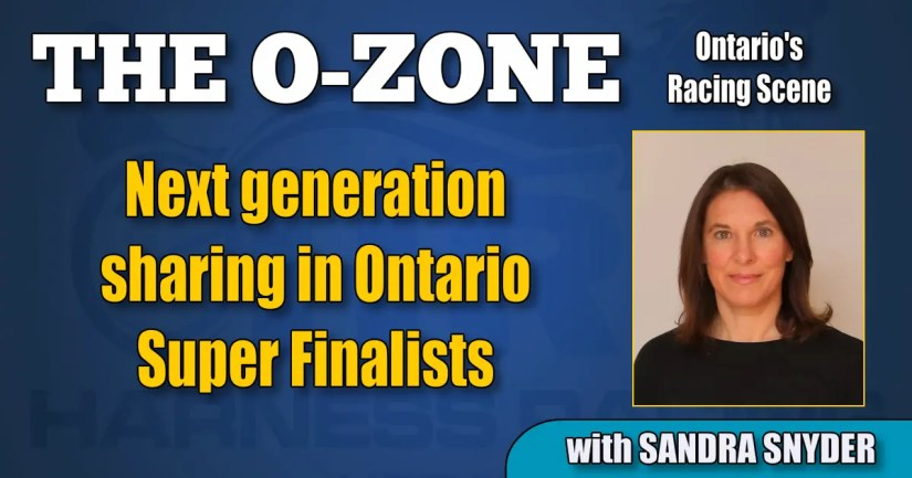Next generation sharing in Ontario Super Finalists