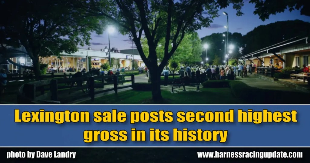 Lexington sale posts second highest gross in its history