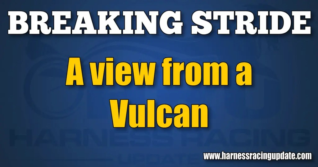 A view from a Vulcan