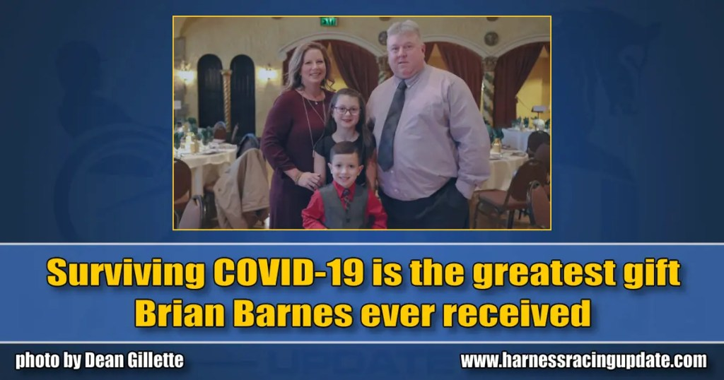 Surviving COVID-19 is the greatest gift Brian Barnes ever received