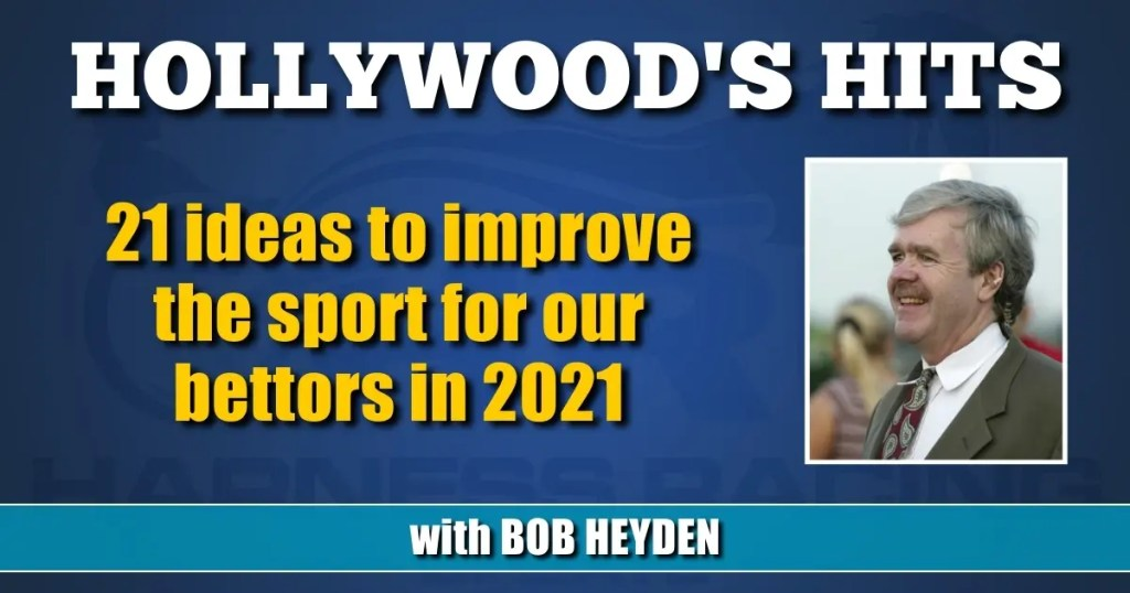 21 ideas to improve the sport for our bettors in 2021