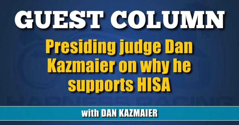 Presiding judge Dan Kazmaier on why he supports HISA