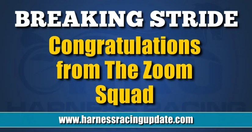 Congratulations from The Zoom Squad