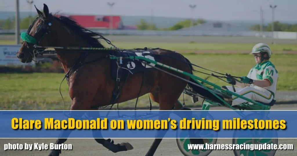 Clare MacDonald on women's driving milestones