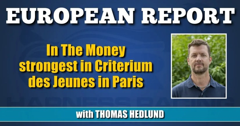 In The Money strongest in Criterium des Jeunes in Paris