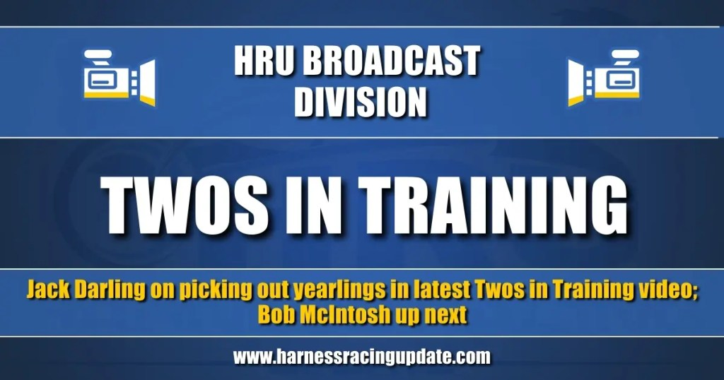 Jack Darling on picking out yearlings in latest Twos in Training video; Bob McIntosh up next