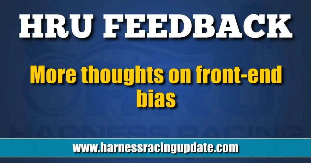More thoughts on front-end bias
