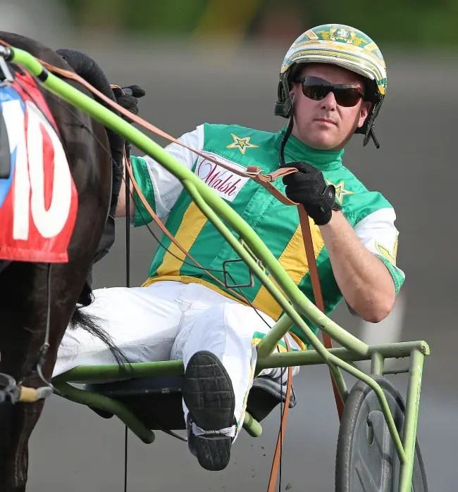 Claus Andersen | Due to a shutdown of racing in Ontario, driver Jody Jamieson is bound for Tioga Downs.
