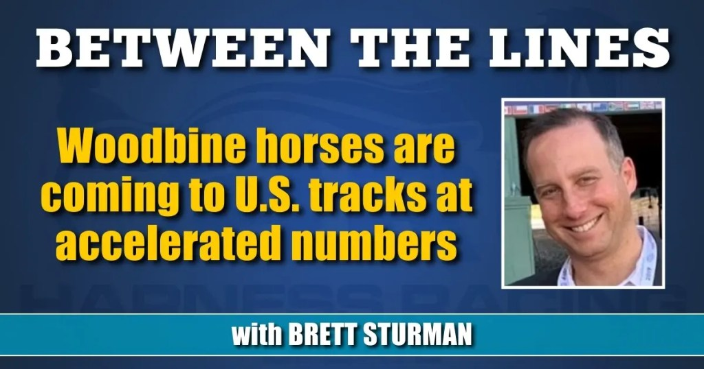 Woodbine horses are coming to U.S. tracks at accelerated numbers
