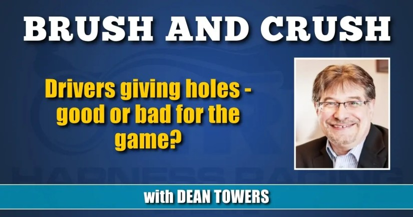 Drivers giving holes — good or bad for the game?