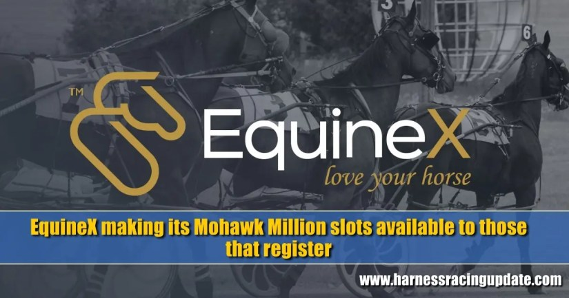 EquineX making its Mohawk Million slots available to those that register