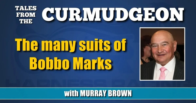 The many suits of Bobbo Marks