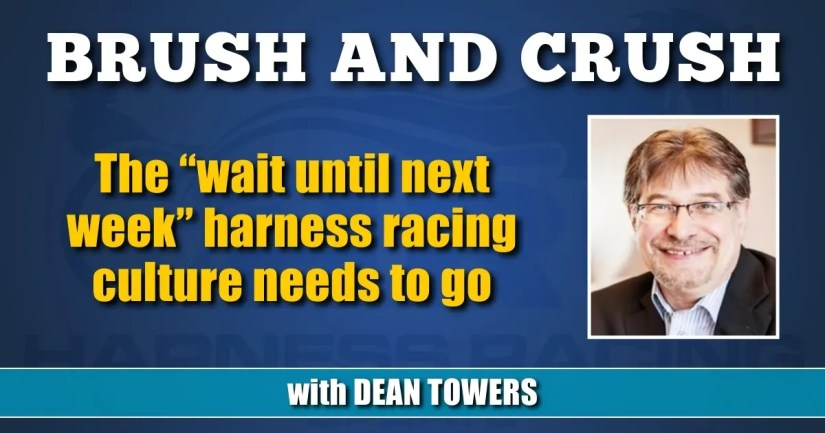 """The """"wait until next week"""" harness racing culture needs to go"""