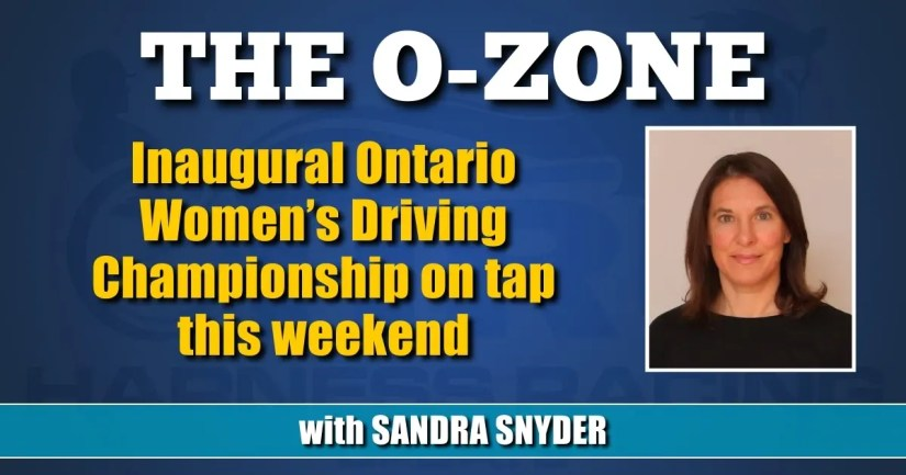 Inaugural Ontario Women's Driving Championship on tap this weekend
