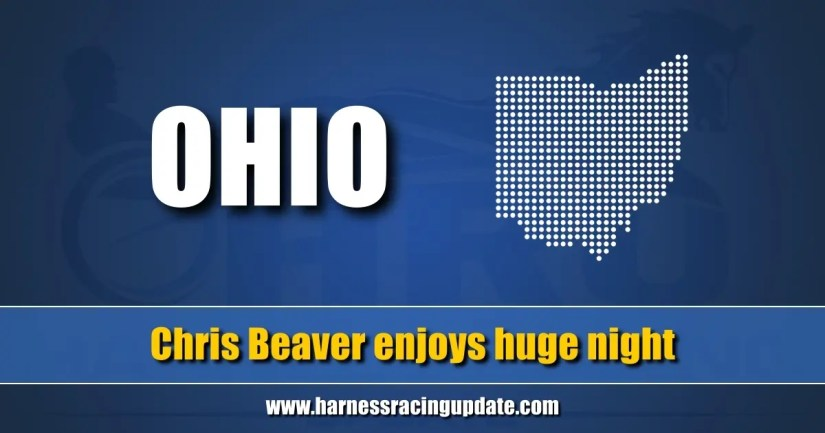 Chris Beaver enjoys huge night