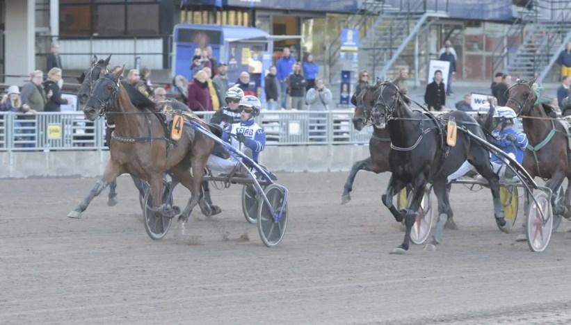 ALN    Esprit Sisu won the STL Open at Solvalla on Sunday.