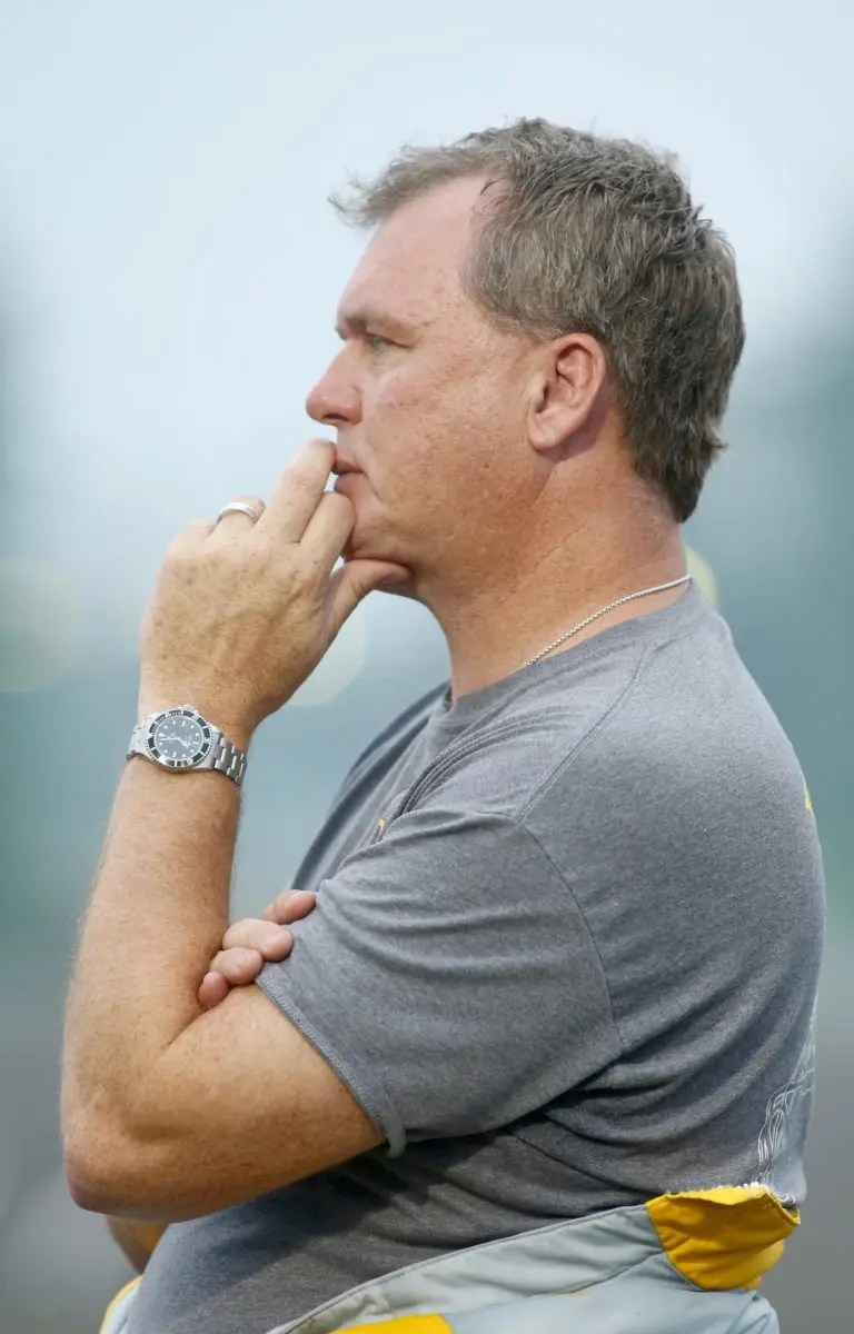 Dave Landry | Trainer Ronnie Burke.