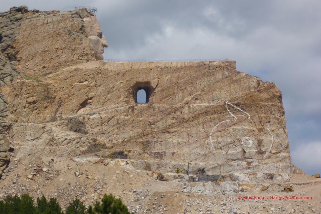 Crazy Horse Memorial - Black Elk Peak