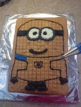déco gâteau minion 2