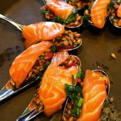 saumon et seigle