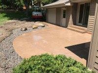 Stamped Concrete Patio - Harold J. Pietig & Sons, Inc.