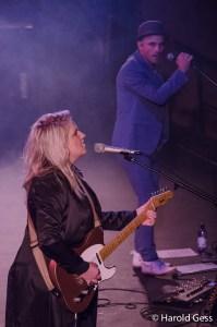 Karen Zoid with Kahn Morbee, Grahamstown 2017