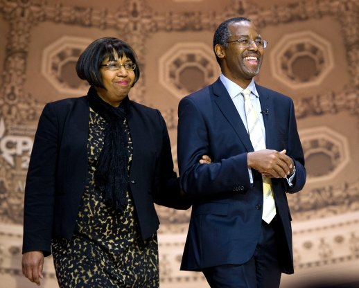 Ben Carson and Candy Carson are vying to replace Barack and Michelle as the number one power couple in America.  Photo Credits: The Internet
