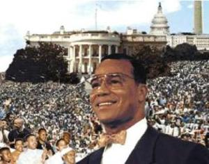 Louis Farrakhan Million Man March Photo