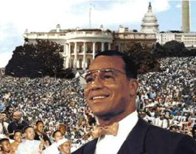 Honorable Minister Louis Farrakhan pledged his organization's support to Robert F. Kennedy, Jr. during the Justice or Else March. Farrakhan will not appear at the march.
