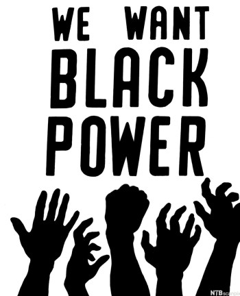 BLACK POWER, 1967. 'We Want Black Power.' Cover of a pamphlet distributed by the Student Nonviolent Coordinating Committee (SNICK), 1967. Photo Credits: ndla.no