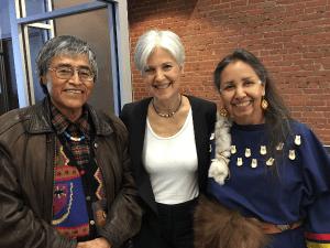 Jill Stein Charmaine White Face Petuuche Gilbert