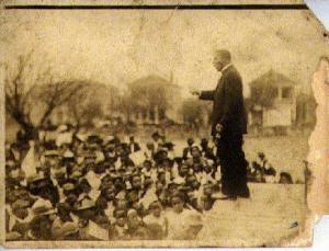 Booker T. Washington Teaching at Tuskegee