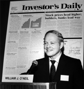 In 1984 William J. O'Neil beginning publishing an investment guide, the Investor's Business Daily. By 2008 IBD's commissioned polls accurately predicted the outcome of the presidential election. Their predictions in 2012 were on the money as well. This year week IBD has the race between Hillary Clinton and Donald Trump virtually even. Photo from Wikipedia