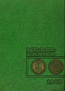 Miller Lanier 1965 Annual Cover