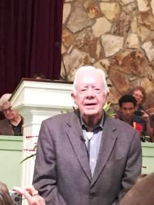 Jimmy Carter Teach Sunday School June 18 2017