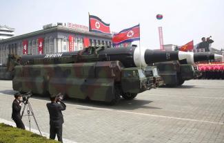 North Korea Nuke parade