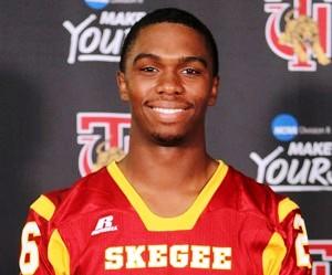 Jonah McCutcheon Tuskegee Football