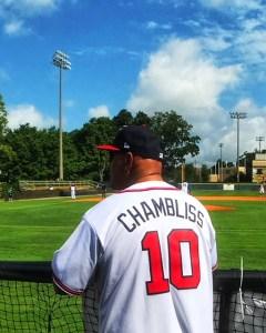 Chris Chambliss Back View