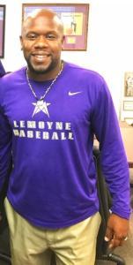 Marcus Smith in LOC Baseball shirt