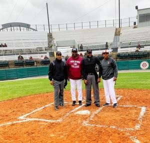 Tuskegee Morehouse Baseball Umpires and Coaches Feb 1 2020