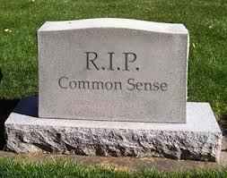 Common Sense Headstone
