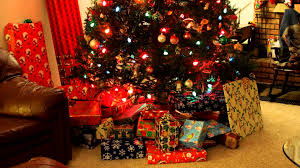 gifts under tree
