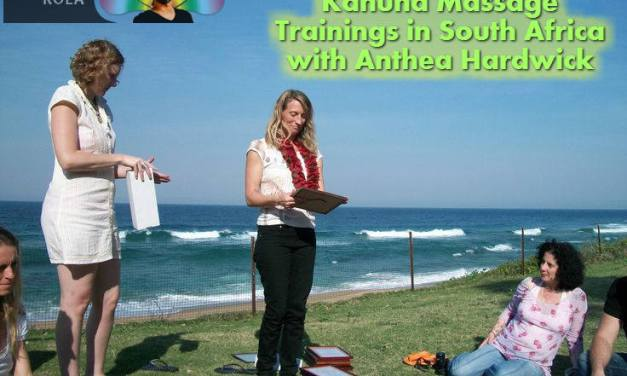 Kahuna Massage Training Dates in South Africa 2015 with Anthea Hardwick