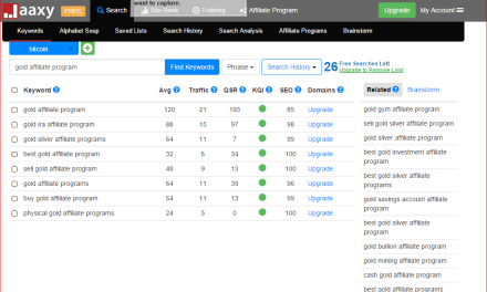 Jaaxy The Keyword Research Tool For Guerilla Affiliate Marketers