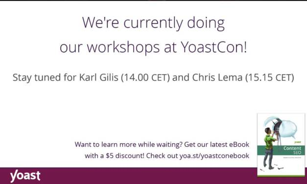 #YoastCon – The LIve Stream