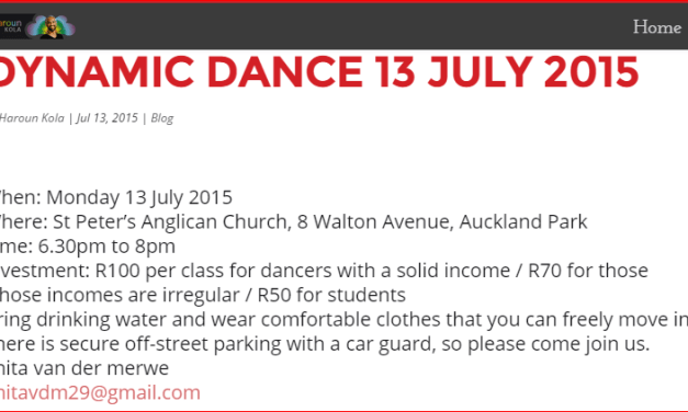 DYNAMIC DANCE 13 JULY 2015