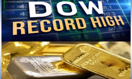 Dow peaks above 19000 and its consequences for gold and silver