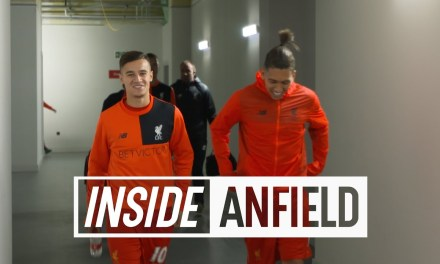 Inside Anfield. A Tunnel Cam Tour Behind The Scenes Of Liverpool's 6-1 victory over Watford Which Took Them To The Top Of The League
