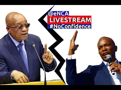 President Zuma faces motion of no confidence
