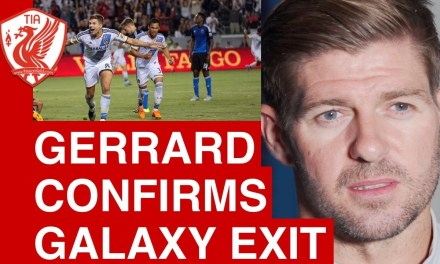 Steven Gerrard on his Galaxy exit and future plans